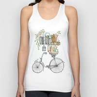 books Tank Tops featuring Pleasant Balance by florever