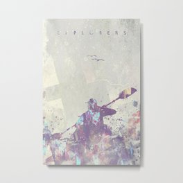 Explorers II Metal Print