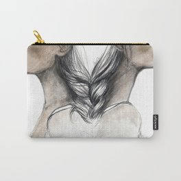 Twins sisters soulmates Carry-All Pouch