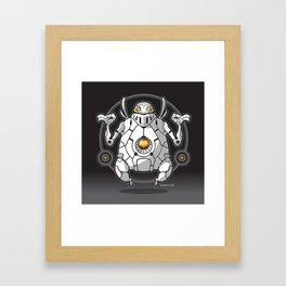 Zen Robot Framed Art Print