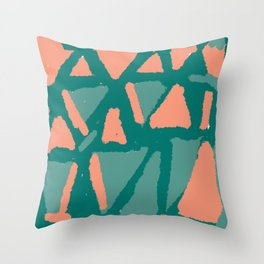 Love triangles reloaded Throw Pillow