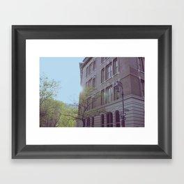 Greenwich Village Framed Art Print
