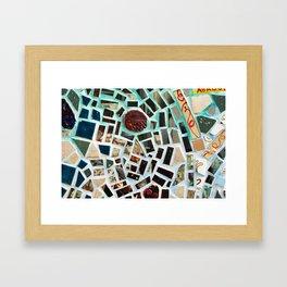 Glass Art in Philly Framed Art Print