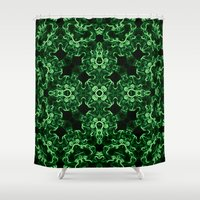 let it go Shower Curtains featuring Let Go by iamcyclo