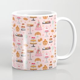French pastries in pastel Coffee Mug