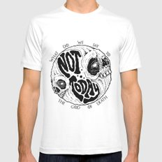 Not Today! LARGE Mens Fitted Tee White