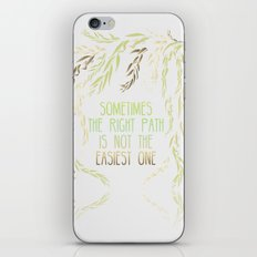 Grandmother Willow's Words iPhone & iPod Skin