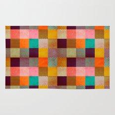 Decorated Pixel   Rug