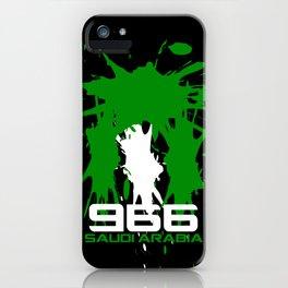 Saudi Arabia Code iPhone Case