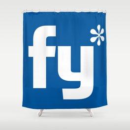 DgM FY* Shower Curtain