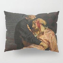 IVAN THE TERRIBLE AND HIS SON IVAN - ILYA REPIN  Pillow Sham