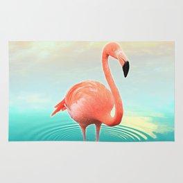 Sunset Flamingo Rug