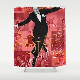 Astaire Collage Portrait 1 Shower Curtain