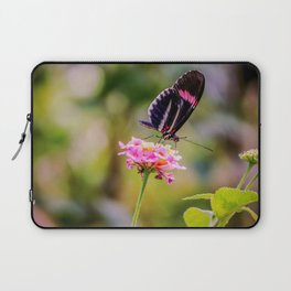 Thirsty Tropical Butterfly Laptop Sleeve