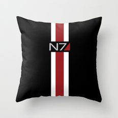 Mass Effect | Commander Shepard  Throw Pillow