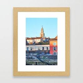 The bell tower Framed Art Print