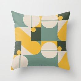 Contemporary 50 Throw Pillow