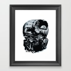 Old World Monkeys Framed Art Print