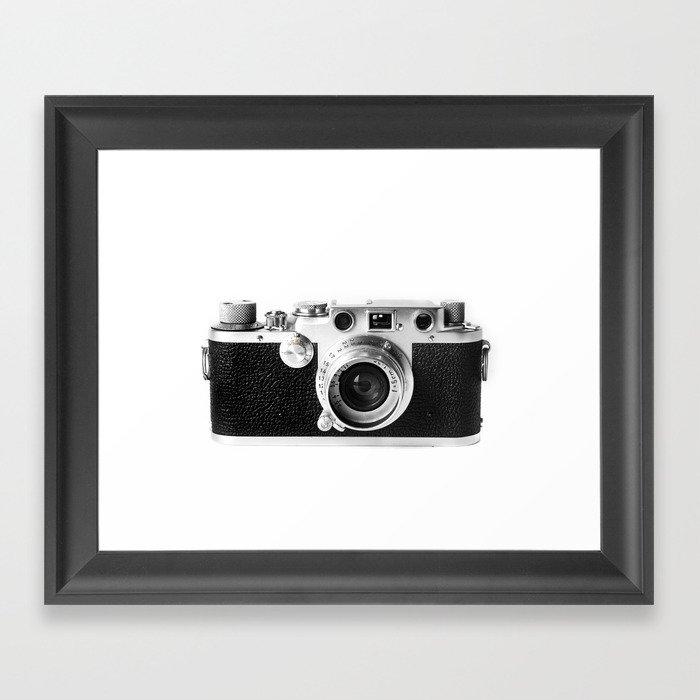 Old Camera Gerahmter Kunstdruck