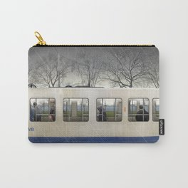 Amsterdam in winter—No.3 Carry-All Pouch