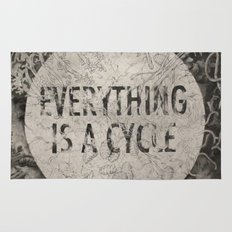 Everything Is A Cycle Rug