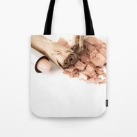 makeup Tote Bags featuring Makeup 01 by VanessaGF