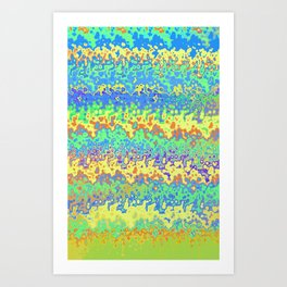 Ondas do Mar Art Print