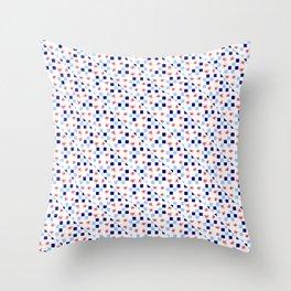 Star and tartan Throw Pillow
