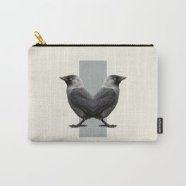 Double Animals: Birds Carry-All Pouch