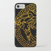 medusa iPhone & iPod Cases featuring medusa by ECSTATIC