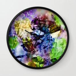 Oriental Dream of Beauty Wall Clock