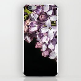 Lilac Bouquet Triptych One iPhone Skin