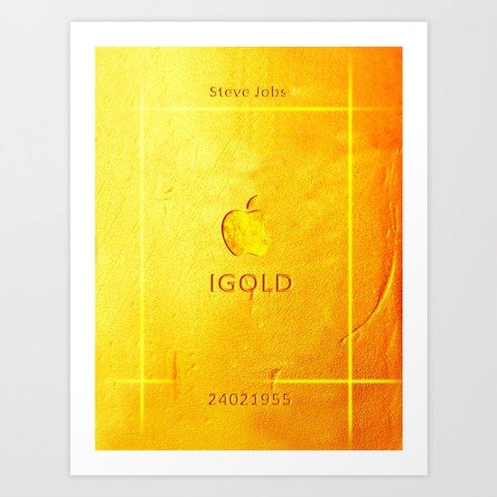 IGold Art Print