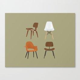 Eames Design Canvas Print