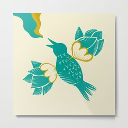 Melody of free birds Metal Print