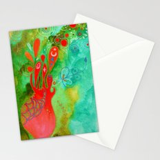 Surging From The Sea Of Dreaming Stationery Cards