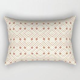 Cavern Clay Boho Little Geo Rectangular Pillow