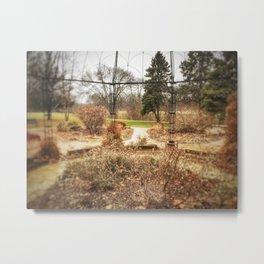 Choose a Path - Centennial Garden, Middle Park - Bettendorf, Iowa Metal Print