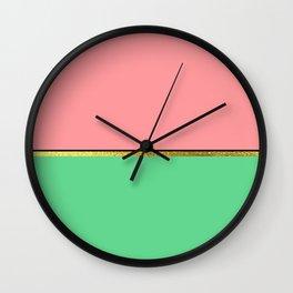 Spring Minimalist II Wall Clock