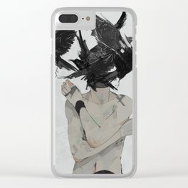 Crows Clear iPhone Case