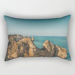Ponta da Piedade, Algarve, Portugal III Rectangular Pillow