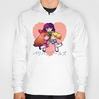 powerpuff girls Hoodies featuring PowerPuff  by Mickey Spectrum