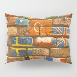 flags Wall Pillow Sham
