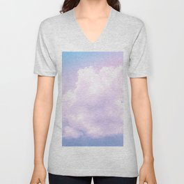 Fantasy cotton candy Unisex V-Neck