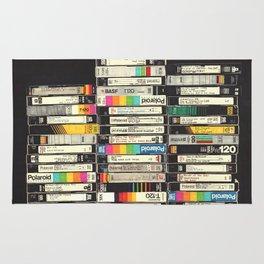 VHS Stack Rug