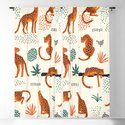 Seamless pattern with leopards by finderidea
