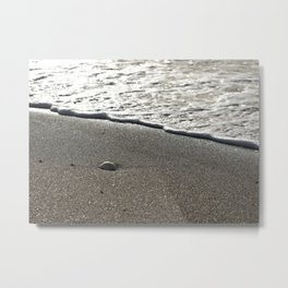 Gentle Wave Metal Print