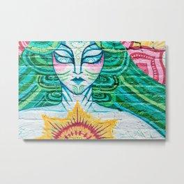 Urban Tapestry IV Metal Print