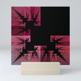 Think Pink Trees Mini Art Print