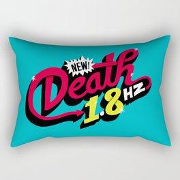 Death Frequency Rectangular Pillow